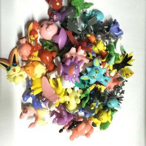 5 set 144 pcs set Pika action figure kids toys children Birthday Christmas gifts 2-3 cm Mini AnimeToy Figures for Children