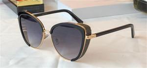 Nouvelle mode lunettes de soleil populaires Jank / s Charmante lunettes de chat avec masque oculaire brillant de haute qualité Généreux Généreux lunettes de protection UV400