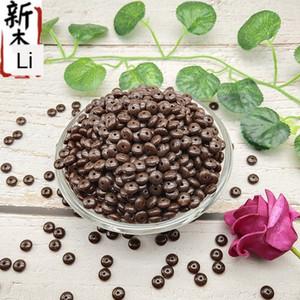 HuqWw imitación concha imitación de acrílico natural de la rebanada de vuelta de coco tibetano Loach grano partición partición de coco
