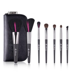My  a touch of red series makeup brush set brush 7 eye shadow smudge loose powder beginner
