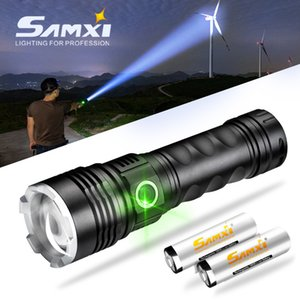 XHP 50.2 LED With 18650 or 26650 Battery High Power Rechargeable LED As Tactical For Camping