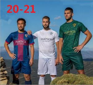 مجموعة جديدة من 20 21 SD هويسكا الرجال لكرة القدم جيرسي الاطفال 2020 2021 سيرجيو غوميز J.Pulido اينسوا أوكازاكي خافي جالان camisetas دي فوتبول قمصان كرة القدم