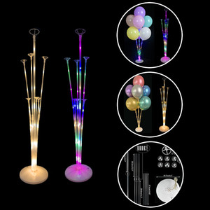 Supporto in plastica Compleanno Matrimonio Balloon decorazione DIY Balloon Ballons partito del bastone Globos Holder Accessori