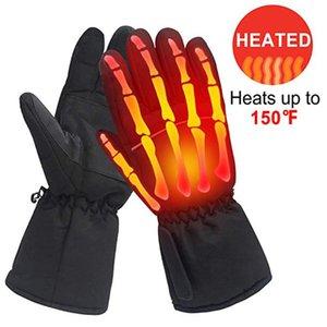 Winter Thermal Handschuhe warme Handschuhe USB Thermal Handaußenwärmer für Skifahren einen.Kreislauf.durchmachenreiten Motorrad-Sport-Handschuh #Z Beheizte