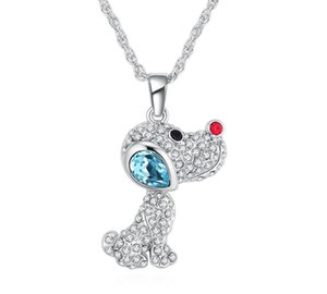 Ms Betti 2019 new lovely Pendant Necklace with crystal from Swarovski best Christmas gifts for girls women bijoux44