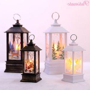 Ornament Patimate Dekorationen für Haus Weihnachten Led Licht-Kerzen-Dekoration Xmas Party Decor pGex