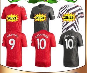 kids kit 20 21 Manchester POGBA RASHFORD Leaked united soccer jersey 2020 2021 utd MARTIAL FERNANDES GREENWOOD JAMES kids football kits shir