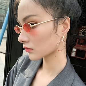 Fashion AMBUSH YOUNG Moon Earrings without pierced autumn winter style Korean retro port style Ear Clip Trend Female Jewelry Wedding Gifts