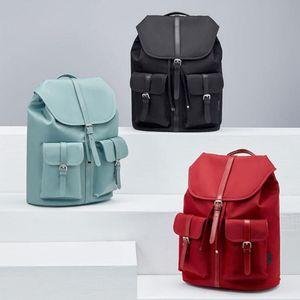 Xiaomiyoupin NINETYGO 90FUN Commuter Nylon Ladies Backpack Women 14 inch Laptop Waterproof Fashion Style Nylon Bag
