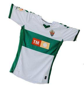 20 21 Elche CF Futbol Formaları Ev Kids Rodriguez 8 Fidel 16 Calvo 12 Milla 11 Josan 17 Folch 4 2020 2021 Jersey Futbol Gömlek Adam Üst