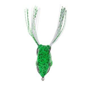 Topwa rana señuelo de la pesca señuelo suave cebo artificial Crankbaits gancho cebos rana linda forma de vida como las acciones de natación en agua