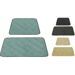 Washable and Reusable Changing Mat, Dog Bed, Dog Car Mat, 2-Piece Set (1 Large and 1 Small)
