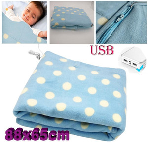 Electric Blanket Portable Heater 88x60cm Car Office Warmer Heated Blanket Thermostat Electric Heating Heating