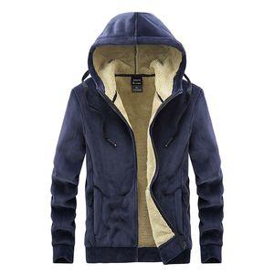 MANTLCONX 2020 Новая зимняя мужская куртка сгущает руно куртки мужчины осень зима пальто Мужчины с капюшоном Windbreak Outwear Негабаритные M-8XL