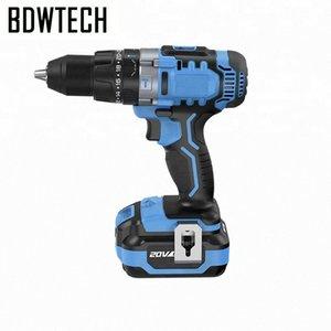 Bodewtech BT372 tournevis électrique sans fil Perceuse 20 volts CC Batterie Lithium-Ion 1/2-Inch 2 vitesses Retour libre ndoF #