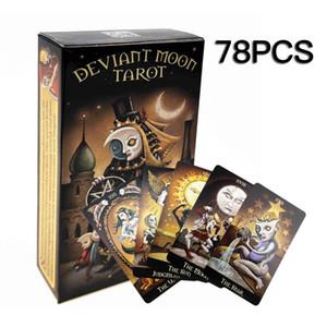 Family Party Oracle für Game Cards Plattform-Brett Mond English Karten 78pcs Karte Deviant Tarot Unterhaltung Spiele Tabelle HKBaD bdehome