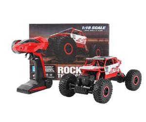 2020 Nueva 1/18 4WD alta velocidad de 2,4 GHz RC orugas escalador Buggy Off-Road de la roca RC remoto modelo de coche de control con impermeable
