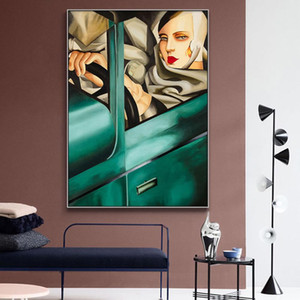 Artist Tamara De Lempicka Classic Artwork Reproduction Posters And Prints Canvas Art Painting Wall Pictures For Home Decoration
