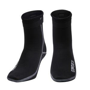 Носки коробки Boots 3мм Мужчины Женщины неопрен Дайвинг Антипробуксовочная Пляж Теплый гидрокостюм Snorkel Серфинг плавать носки воды обувь