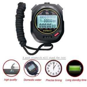 Professional Digital Stopwatch Timer Multifuction Handheld Training Timer Portable Outdoor Sports Running Chronograph Stop Watch