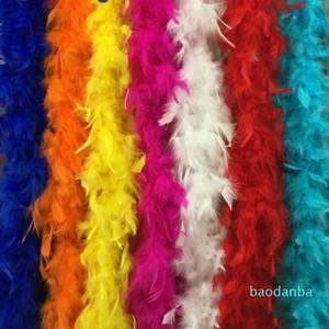 2021 Hot vente multiples couleurs Marabou plumes Boa pour Party Dress Fancy Burlesque Boas Livraison gratuite