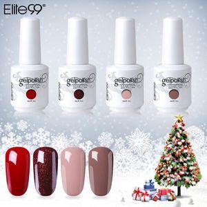 Elite99 4pcs 15ML Gel Nail Polish Gel Varnish Semi Permanent Soak Off polish Nail Art Design Manicure UV Nails