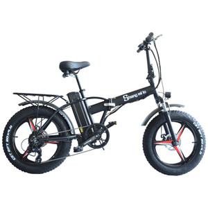 Offizielles Produkt shengmilo M20 Elektrische Energie Fahrrad 20 Zoll 48V elektrische ATV Falten Schneemobil Lithium-Batterie 4.0 Reifen Mountainbike