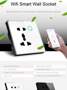 Smart Home Power Point UK standard universel 5Pin Wifi Socket Alexa Accueil Google