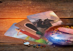 78pcs Tarot-Karte Deck Triple Goddess Tarot Oracle Cards Altmodische Farbe Centennial Tarotkarten Spiel-Brettspiel Family Table bbybVD
