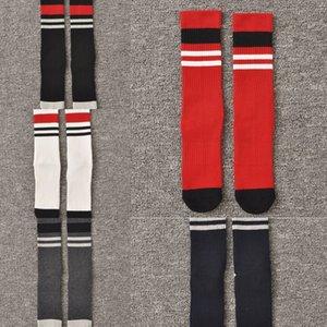 Toalla base de los deportes de los hombres calcetines de algodón al estilo coreano estudiante medias ejecutan sudar-absorbente respirable de los hombres de nan shi tou wa wa qi mediados de la pierna por lo