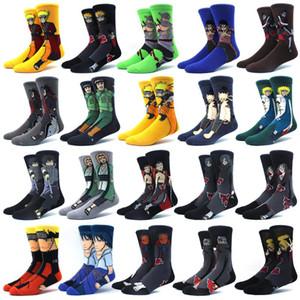 calzini Naruto colorato cotone cuciture di comfort felice stampa anime personalizzato calze da uomo moda divertente fumetto della novità delle donne calzino