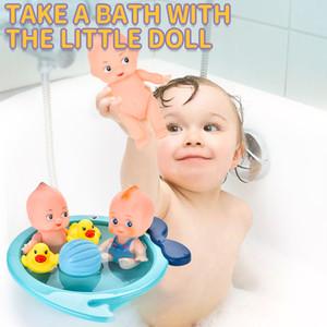 École maternelle Kid Pretend Baigner Canards Early éducation Simulé Baignoire Play Set Baby Bathing Set de jouets Jeux d'imitation