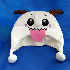 DHL 2020 New Free Shipping Game League of Legends LOL Howling Abyss ARAM Poro Lovely Plush Hat Beanie One Size Party hats