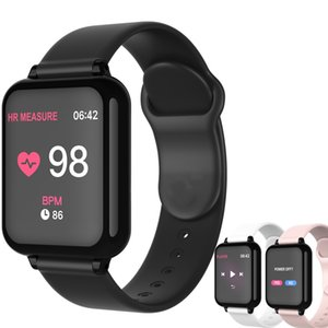 B57 Smart Watch Waterproof Fitness Tracker Sport For IOS Android phone Smartwatch Heart Rate Monitor Blood Pressure Functions