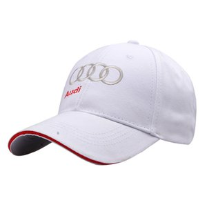 القبعات قبعة الرجال القطن نمط الكورية البيسبول مطرزة أودي AODI F1 مروحة سقف سيارة سائق سباقات