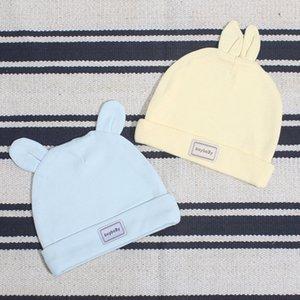Letat Printemps et Pull Tire été nouveau bouchon de mise en forme bébé chapeau de pur coton nouveau-né pneu bouchon pull-over bébé