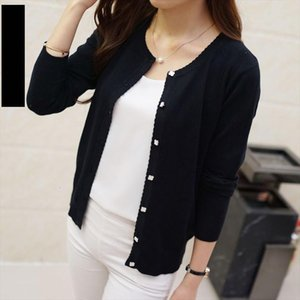 2020 Short Design Thin Cardigan Womens Cutout Sunscreen Air Conditioning Shirt Sweater Knitted Outerwear Small Cape