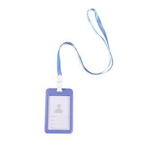 Hanging Work Brand Blue Card Rope School Cards Badge Lanyard Holder For Grayish Id bbyKru yh_pack