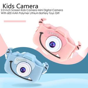X5 2,0 polegadas tela da câmera Crianças Camera Mini Digital 20MP Foto Crianças com 600 mAh Polymer Lithium Battery Brinquedos presente