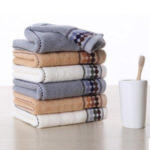 Cotton tovagliolo di bagno Set per bagno 2xHand tovaglioli di fronte per adulti Bianco Marrone Grigio Terry Washcloth Viaggi Sport Asciugamano