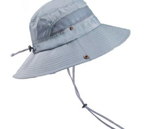 Unisex Cooling Bucket Hat UV Protection Quick Drying Summer Outdoor Hiking Cap JS26