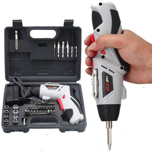 4.8V Electric Screwdriver Rechargeable portable radio drill set Rotary handle power tool free shipping
