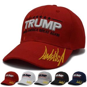 15styles Trump Berretto da baseball Tenere i tappi l'America di nuovo grande 2020 Campaign USA 45 cappello della bandiera americana su tela ricamata Partito Cappelli