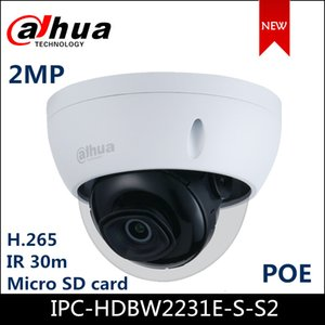2MP POE IP Camera Support Motion detection,H.265+ WDR IP Security Dome Camera Outdoor IP67 ONVIF IPC-HDBW2231E-S-S2