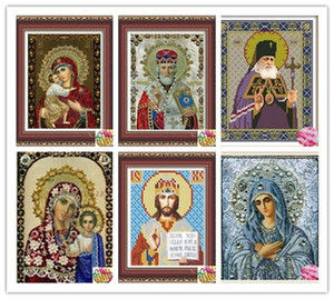 New 5D Crystal Round Diamond Painting Diy Diamond Painting Embroidery Home Decor Dimond Mosaic Religious for People Gift