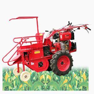 Yüksek kaliteli paslanmaz çelik tarımın küçük mısır satışı Mini benzinli motor mısır hasat makinesi kombine hasat