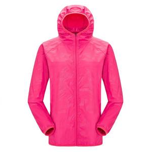 New Mens Women Fashion Jackets Windproof Ultra-light Jacket Men Sunscreen Windbreaker Quick Dry Casual Ultrathin Thin Coat