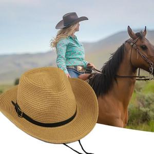 Foldable England Retro Sun Protection Western Cowboy Hat Against Uv Reshapes Face Unisex Wide Brim Chapeau Hat Top Cap Fedoras