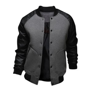 homme automne manteau de veste de hip-hop décontracté hommes veste de baseball streetwear chaqueta hombre TJWLKJ