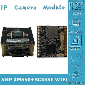 WIFI Wireless 5MP XM550AI+SC335E 2592*1944 IP Camera Module Board 8-128G SD Card Two-Way Audio CMS XMEYE P2P Cloud RTSP